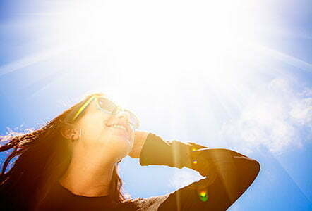 avoiding sun damage blog