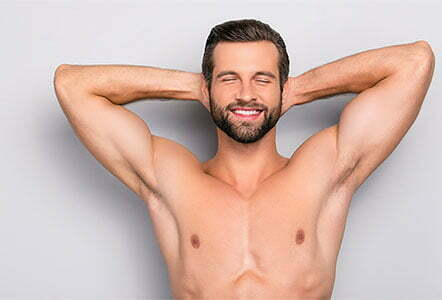 Can males get laser hair removal?