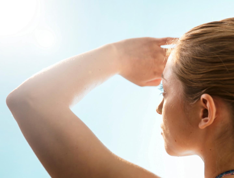 What causes sun damage?